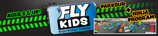 Banner Image for FLY KIDS Ninja + Parkour Academy