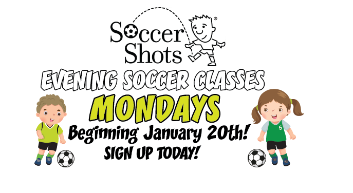 Evening Soccer Classes Registering Now