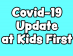Thumbnail of COVID-19 Update for Kids First