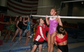 Girls Competitive Gymnastics Teams Gallery