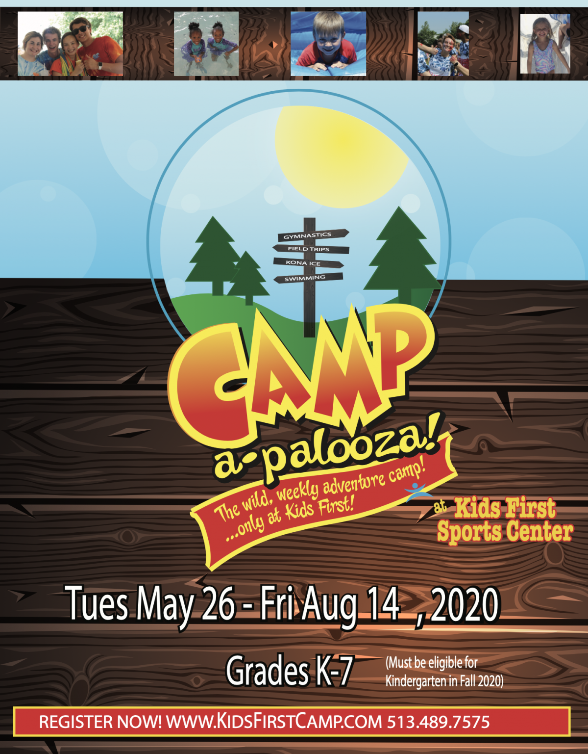 2020 Summer Camp Brochure