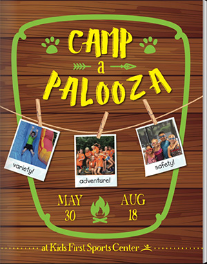 Kids First Sports Center Camp-a-Palooza