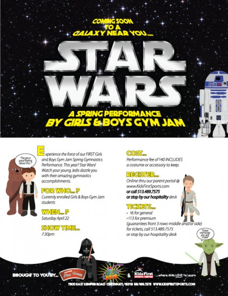 Star Wars: Girls & Boys Gym Jam