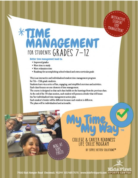 My Time My Way
