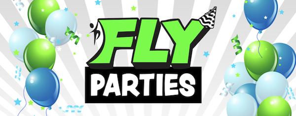 FLY Parties - Ninja Birthday Parties!