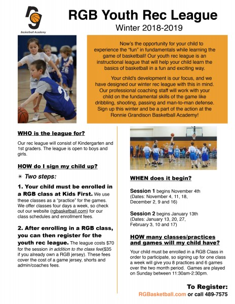 RG Basketball Camps