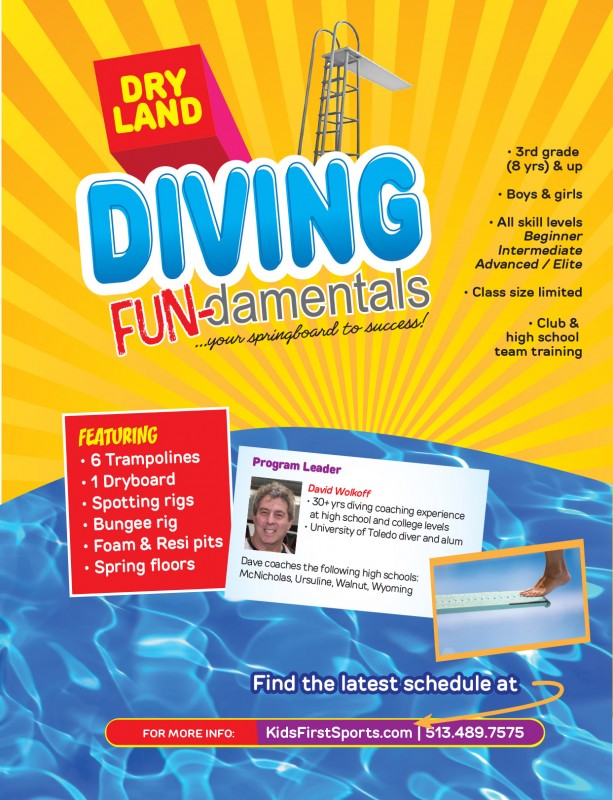 Diving Fundamentals at Kids First Sports