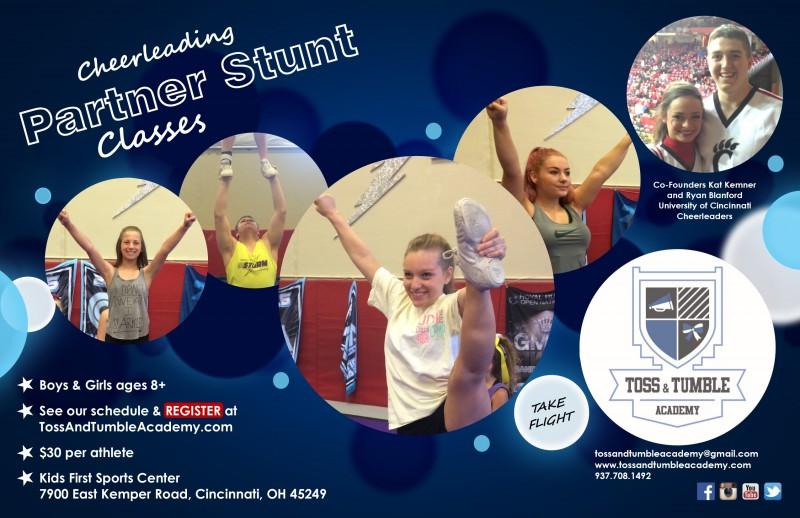 Cheerleading Partner Stunt Classes